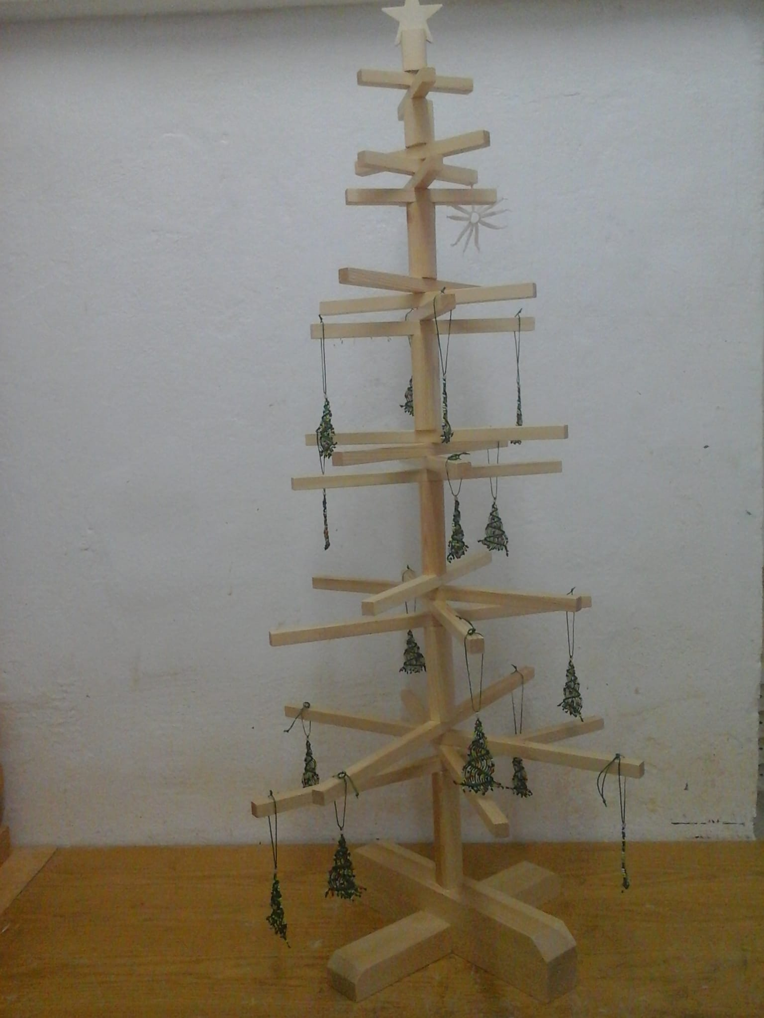 Wooden Christmas Tree 10203 Techni Workshop